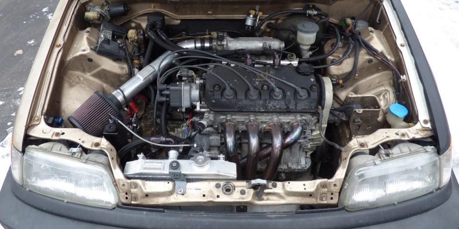 Civic wagon D16Z6 motor upgrade