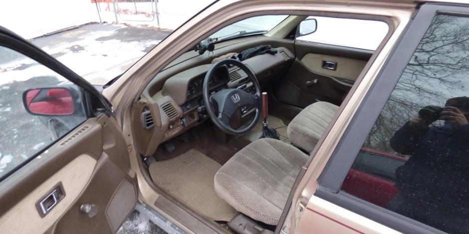 Civic wagon interior