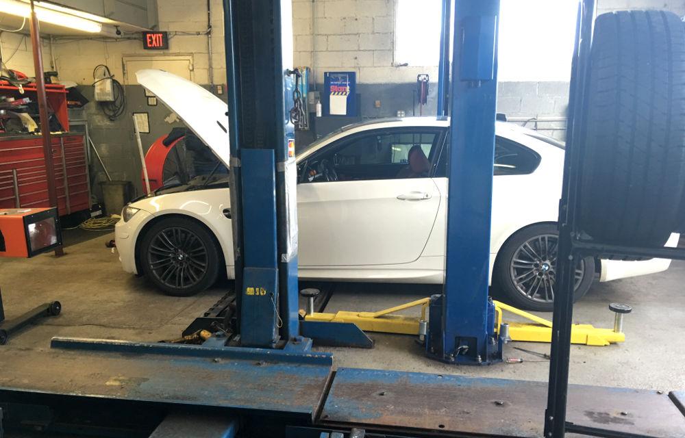 2008 BMW M3 emissions testing