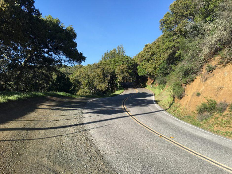 Roads of California's Foothills
