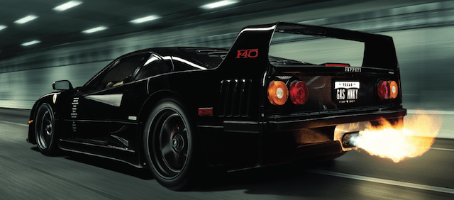 gas monkey garage black f40