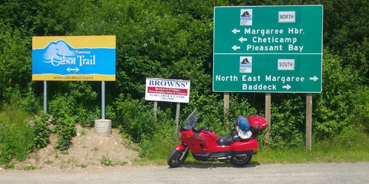 Cabot Trail signs