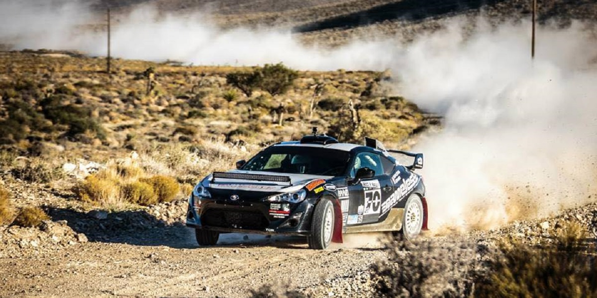 Chris Duplessis rally Subaru BRZ