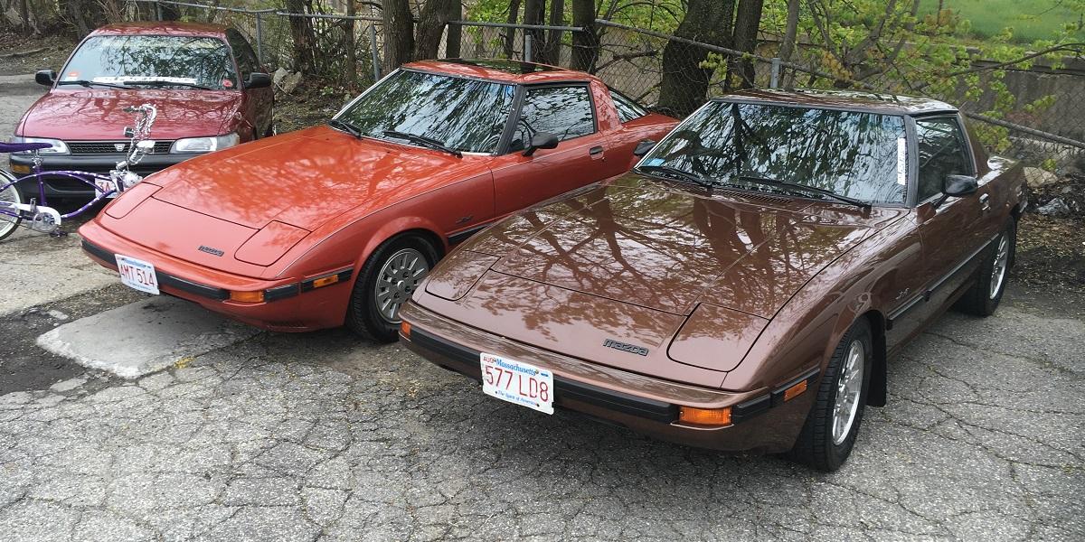 Mazda RX-7s