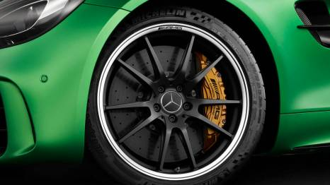 AMG performance forged wheel exclusive for the AMG GT-R