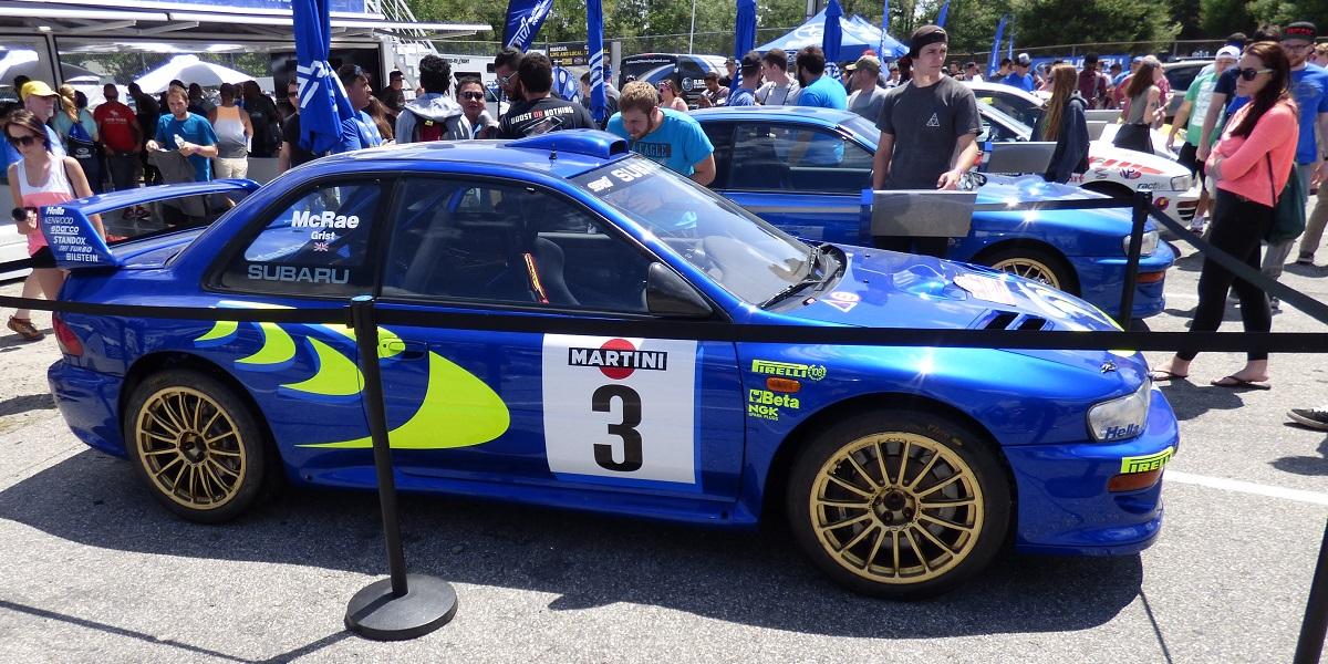 Colin McRae 1998 Subaru Impreza WRC
