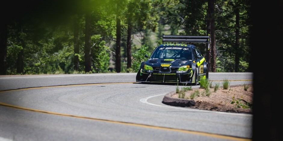 Pike's Peak Subaru WRX