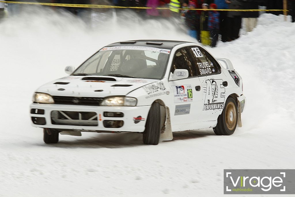 Canadian winter rally