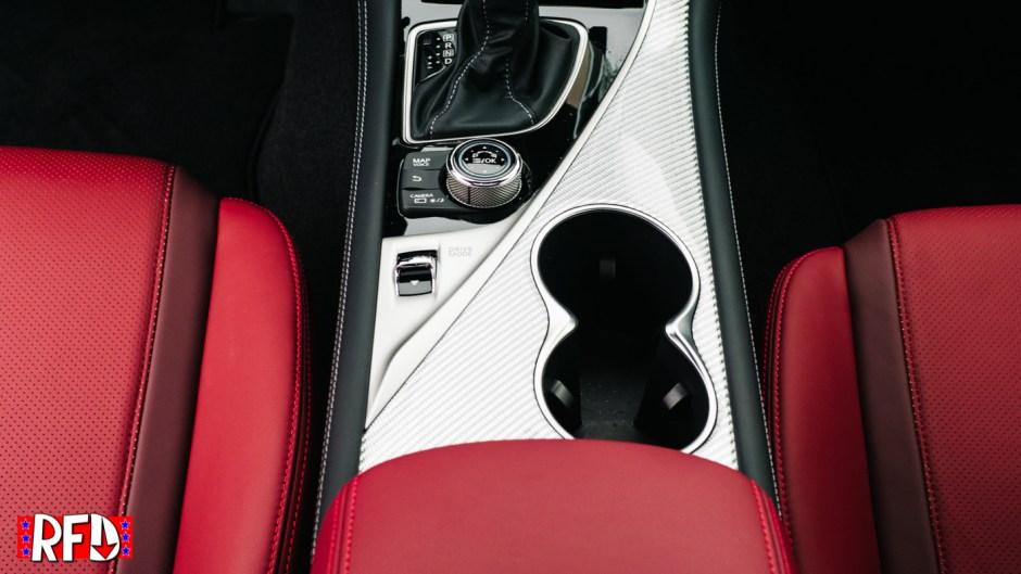 Infiniti Q60 Red Sport 400