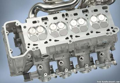 BMW S65 Head and Valves