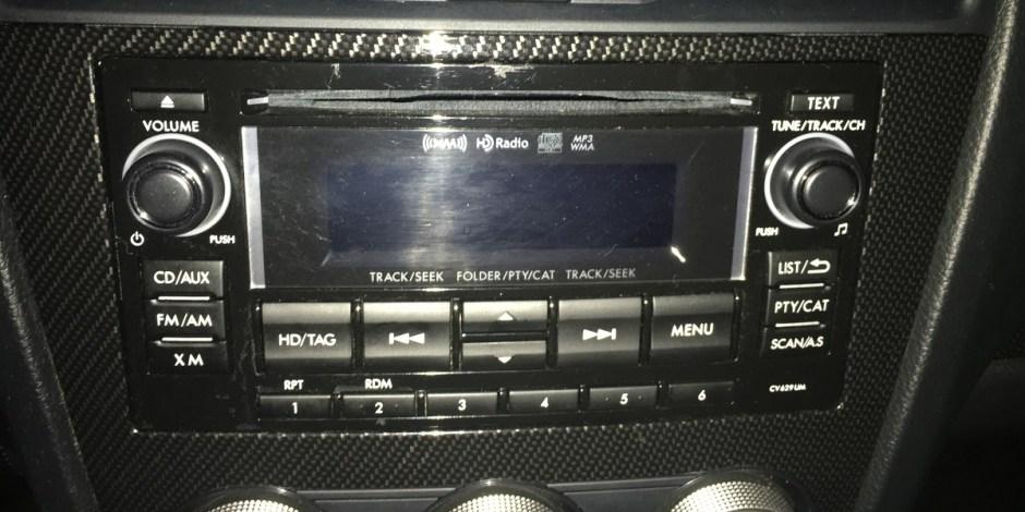 2015 Subaru WRX stereo