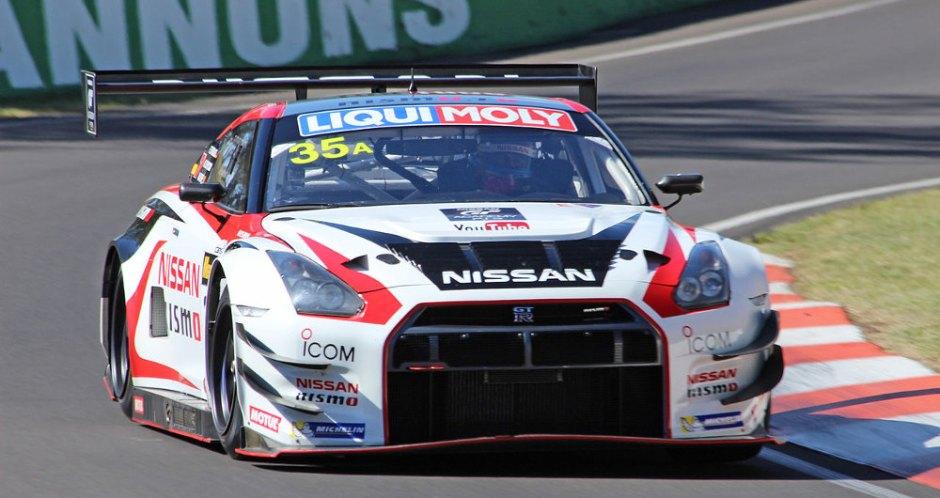 Nissan GT-R race car at Bathurst