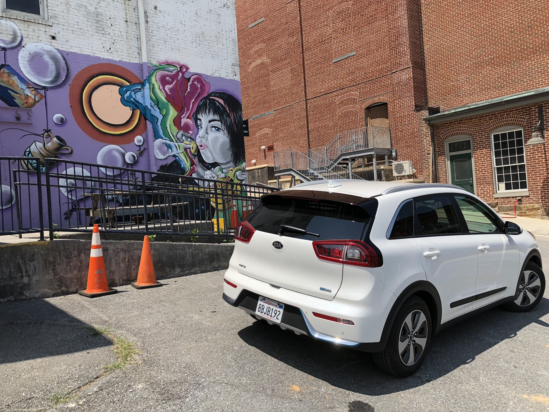 2018 Kia Niro PHEV Kia s Small Plug in Hybrid Hits All The