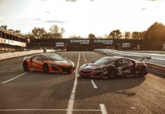 Acura NSX and GT3 Evo
