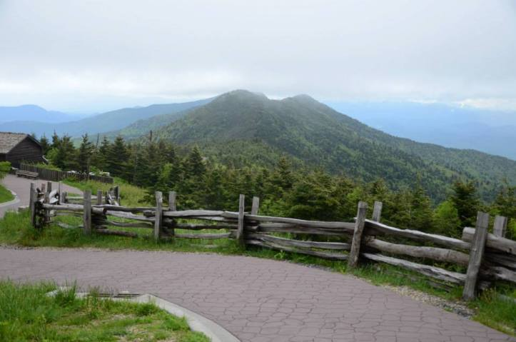 Mount Mitchell State Park, North Carolina, highest point east of the Mississippi