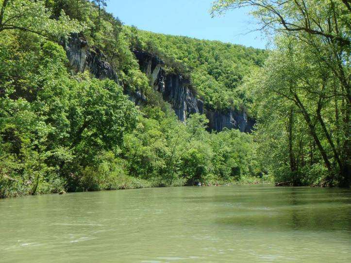 Kayaking on the Buffalo National River