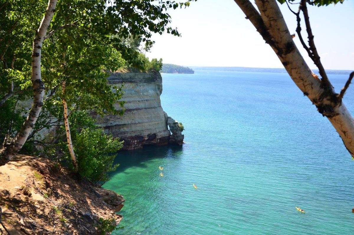 Backpacking Pictured Rocks National Lakeshore