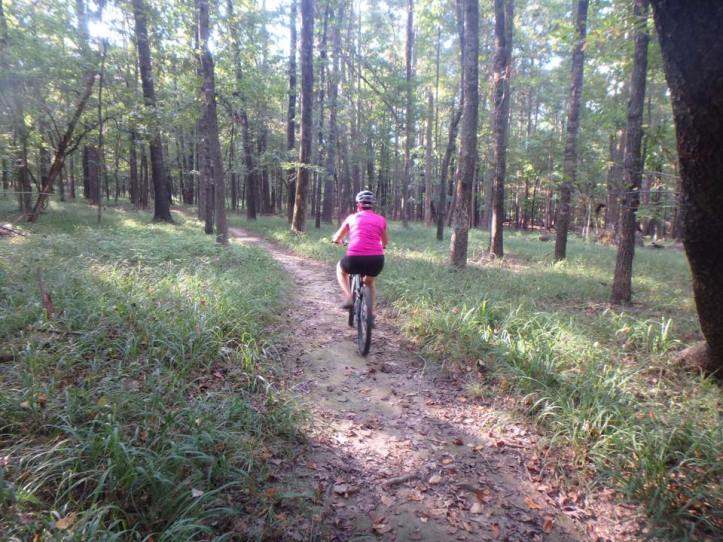 Cane Creek State Park in Arkansas is a great place for the adventurer. It boasts mountain biking, flat water kayaking, and backpacking.