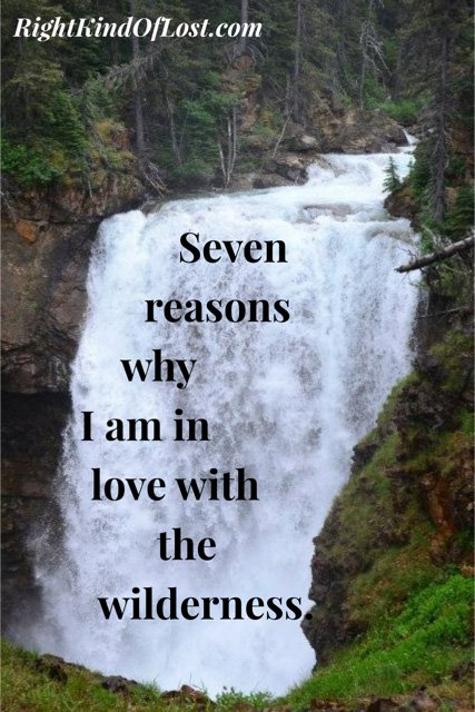 Seven reasons why I am in love with the wilderness.