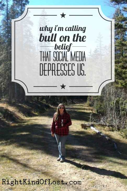Why I'm calling bull on the beliefs that our hipster-cool lives on social media makes us more depressed. Look closely, and you might just be inspired.