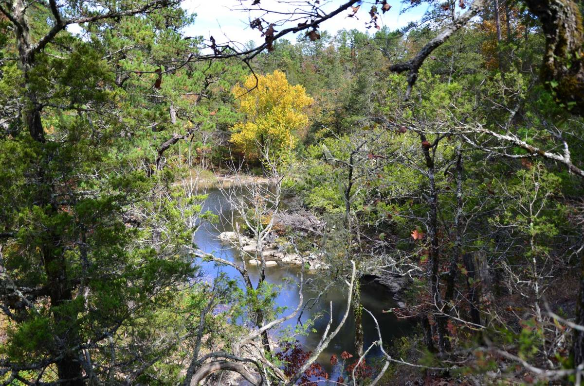 The Harris Creek Trail at Cassatot River State Park in southwest Arkansas is a perfect day hike.