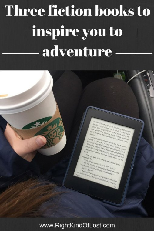 Good adventure fiction books can inspire you to go adventuring. These are my three favorite adventure fiction books that inspire me to go exploring.