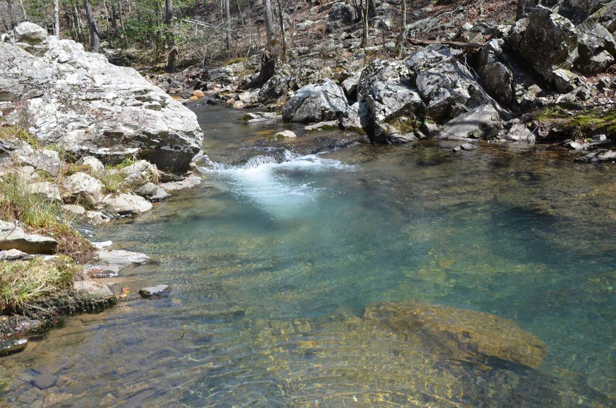 Tall Peak Trail in the Caney Creek Wilderness Area in southwest Arkansas is a steep and rugged but extremely rewarding day hike.