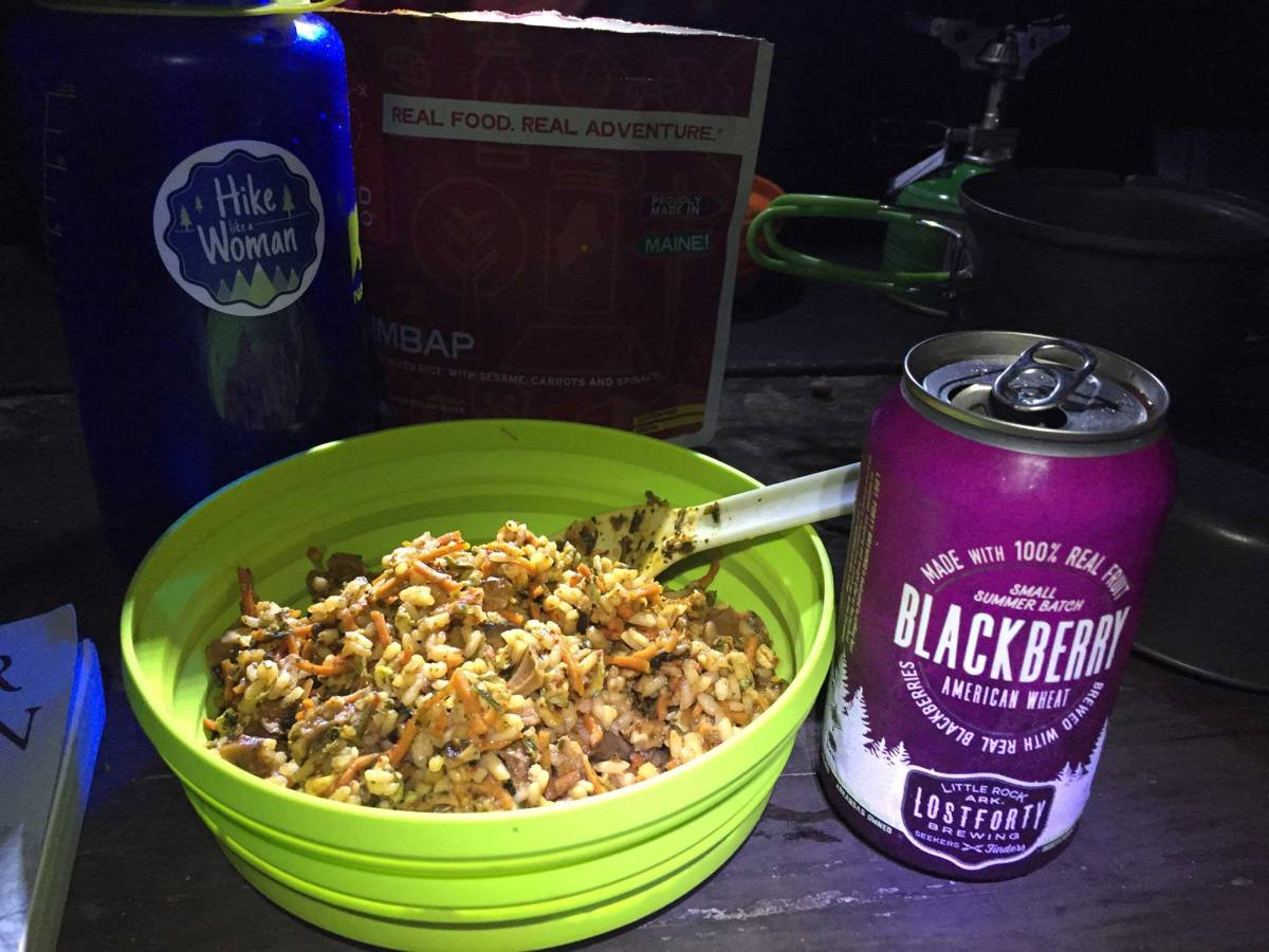 Backcountry kitchen – what I eat, cook with, and eat out of while backpacking.