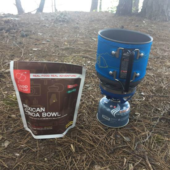 Backcountry kitchen – what I eat, cook with, and eat out of in the while backpacking.