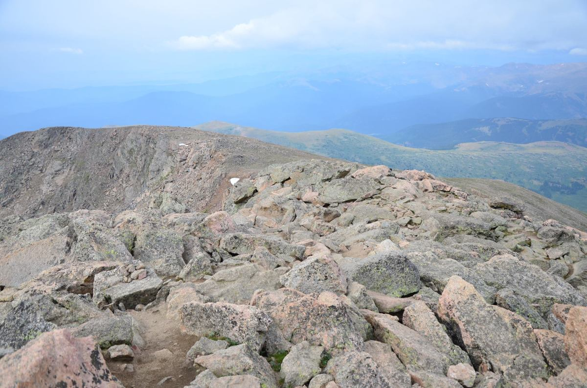 Training for a 14er? Here's how I trained for my first first 14er while living near sea level, and the mistakes that I made along.