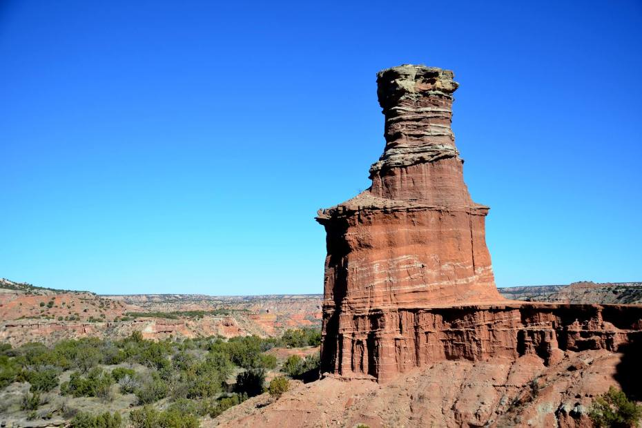 Exploreing Palo Duro Canyon State Park in the panhandle of Texas. A wonderful adventure park that offers a unique experice in the desert.