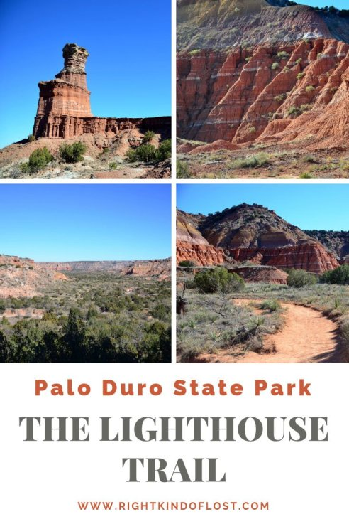 The Lighthouse Trail at Palo Duro Canyon State Park in the Panhandle of Texas is a wonderful day hike to a unique rock formation that reigns over the canyon.