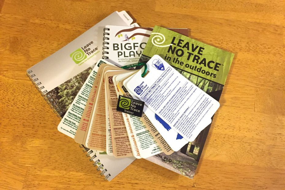 The Leave No Trace Trainer Course is a wonderful and fun way to learn about the seven Leave No Trace Principles and how to teach them to others.