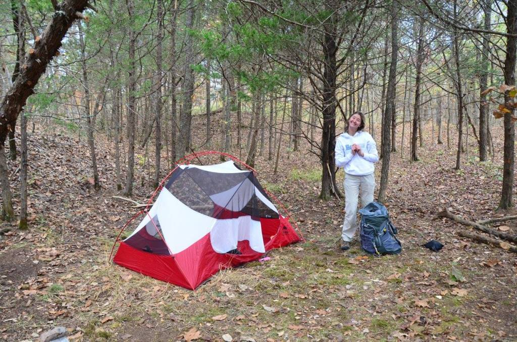Great Campsites are found not made