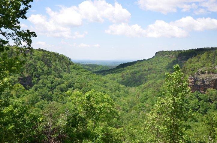 Petit Jean Loop Trail – A shorter alternative to the BSA trail