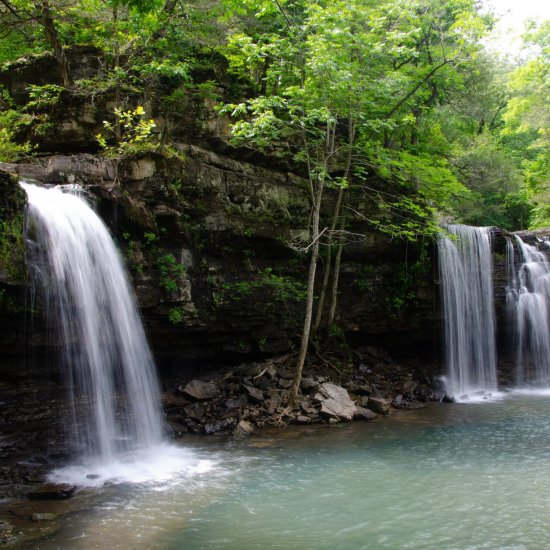 Twin Fall Richland Creek Wilderness area is an amazing hike, hard, but amazing and worth the bushwhack