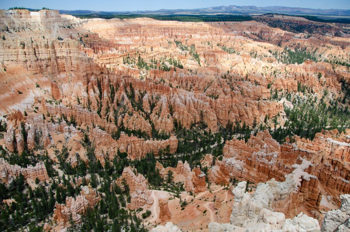 Bryce Canyon National Park is shown along the road trip for Utah's Mighty Five