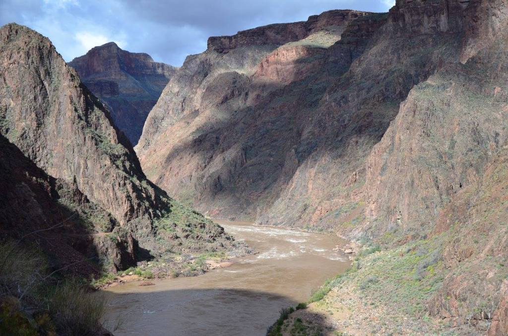 The Grand Canyon is shown as one of the best national parks to visit in winter