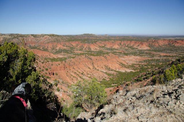 Caprock Escarpment is shown
