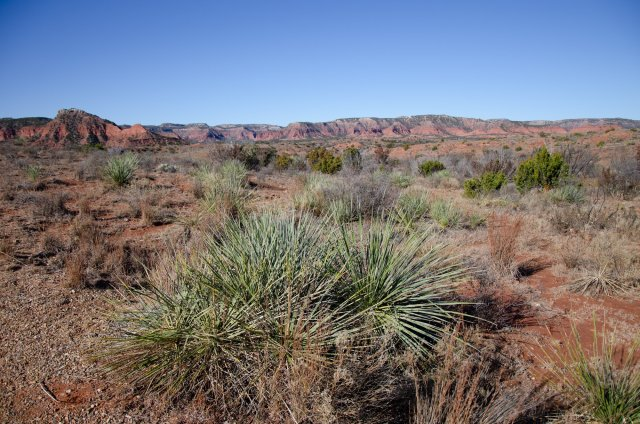 Caprock Canyons State Park is shown