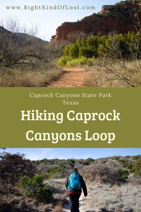 Connecting four trails at Caprock Canyons State Park for a great 7-mile hiking loop is a great way to see the diversity and best parts of the park.