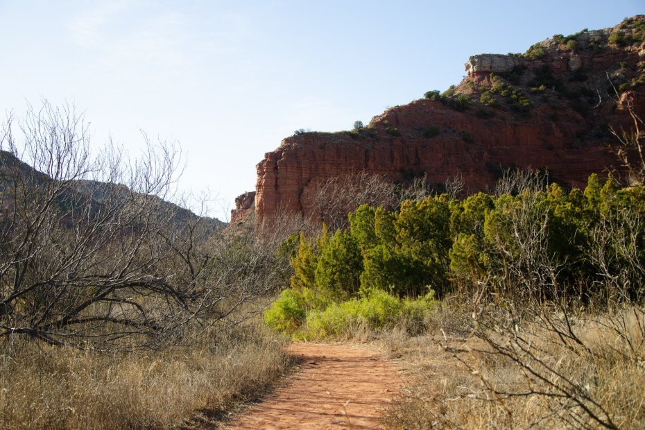 Caprock Canyons hiking loop