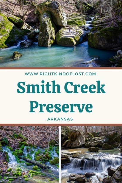 Smith Creek Preserve adjacent to the Buffalo National River is an amazing and beautiful spot protected by The Nature Conservancy.