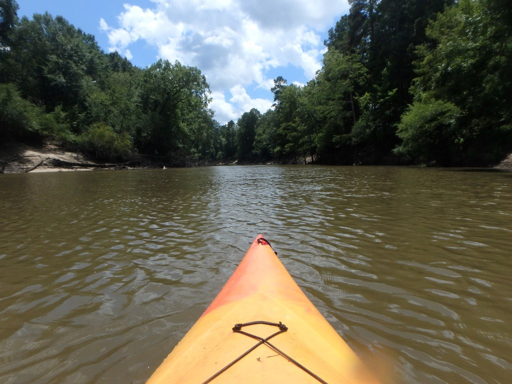 floating the lower Saline River