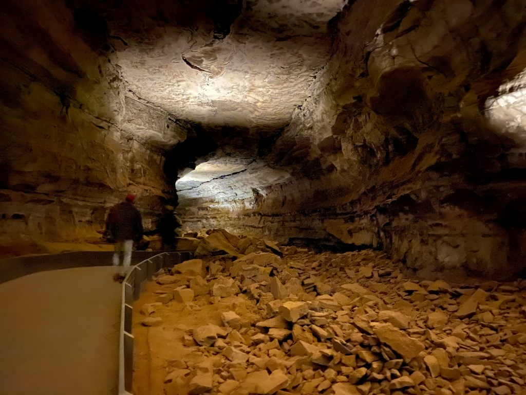 Mammoth Cave is shown