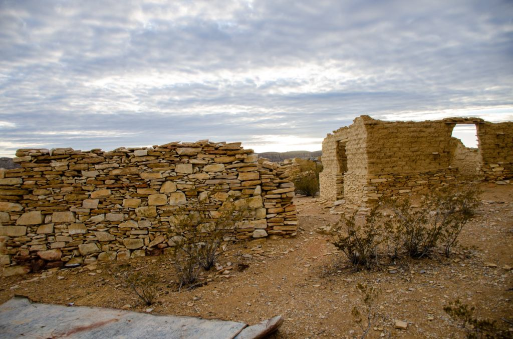 Terlingua Ghost Town is shown