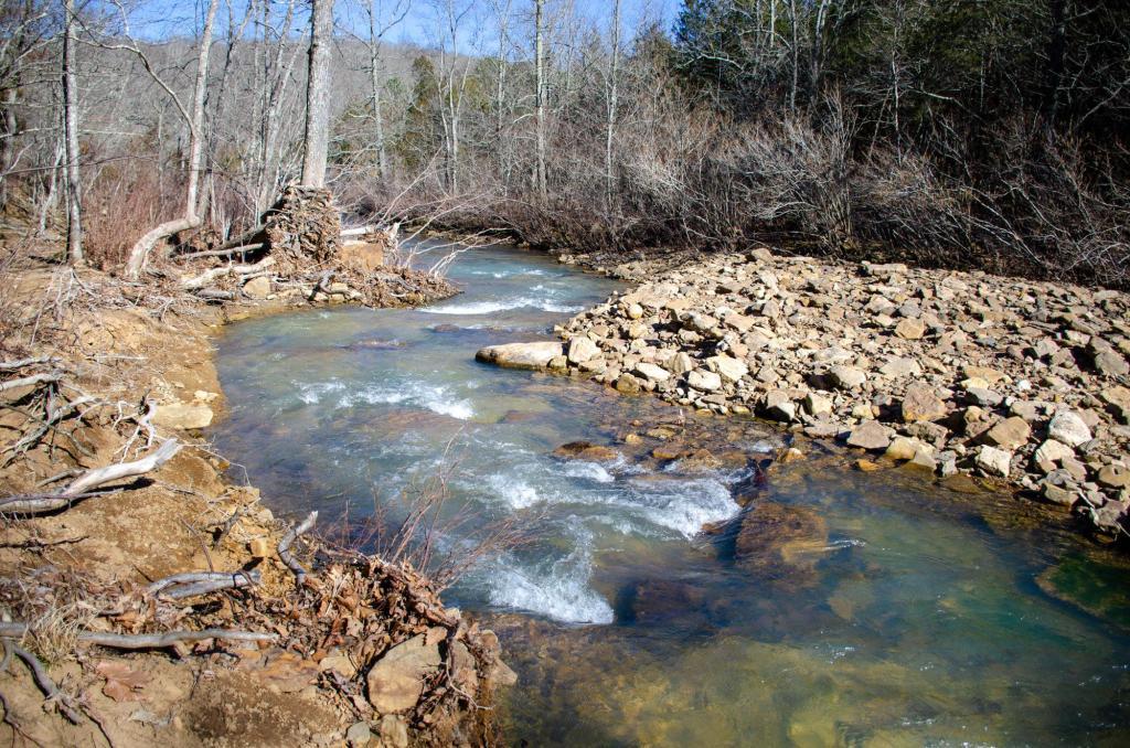 Mitchell Creek is shown