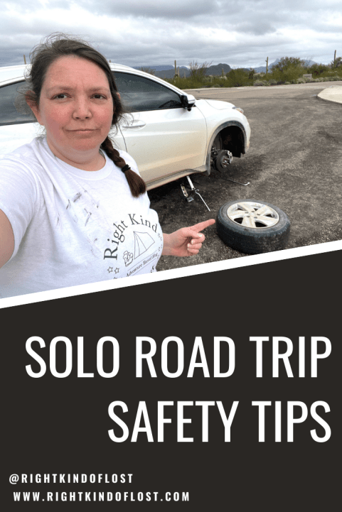 Five solo road trip safety tips to help keep you a little safer and give you and your loved ones more peace of mind as well.