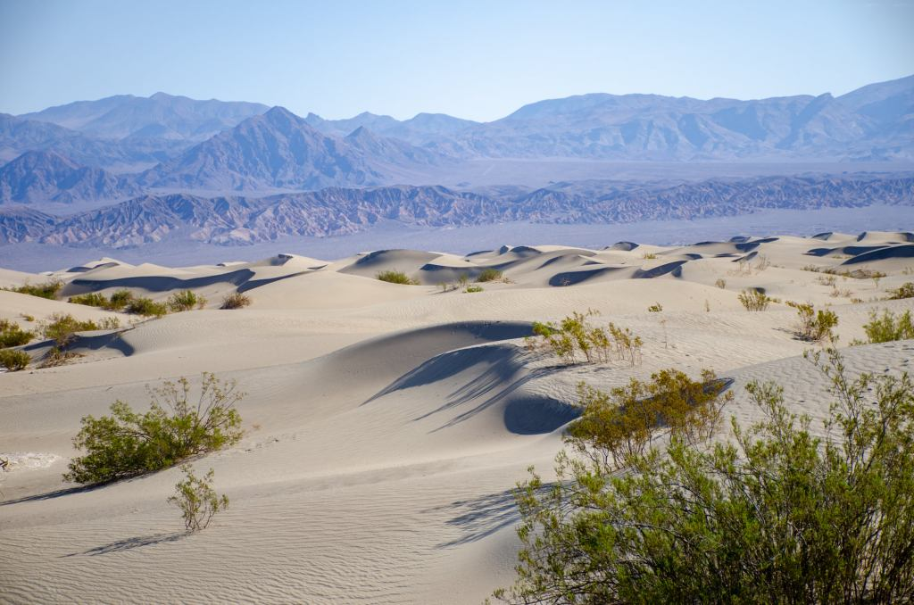 Death Valley is shown solo road trip safety tips