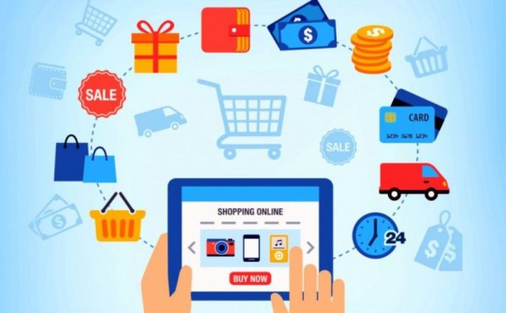 e-commerce market in India picture